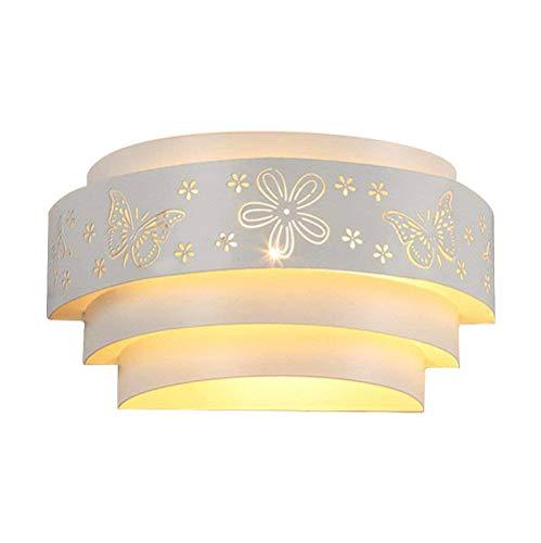 Coquimbo Butterfly Aplique de Pared LED Moderna Lámpara de Pared en Interior Iluminacion de Pared de Noche para Hogar, Dormitorio, Studio, Restaurante Decoración