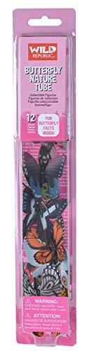 Wild Republic - Mariposas, juguete colección Nature Tube, 32 cm (12889) , color/modelo surtido