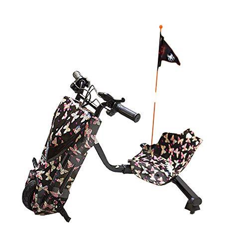 Gran-Scooter / Patinete con Silla Boogie Drift 36D (250W, Batería Litio, 3 Velocidades, Vel. Máx 15km, Luz Delantera, Pantalla LCD) – Mariposa