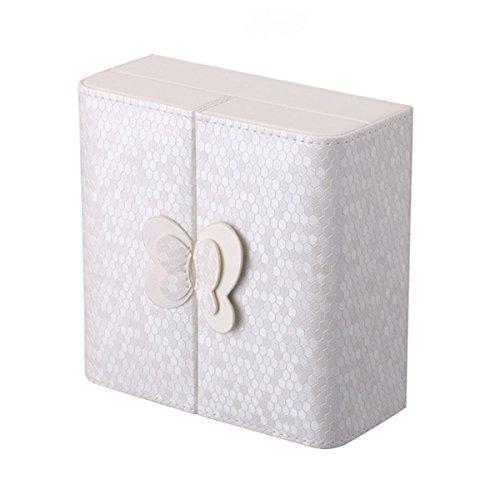 ledyoung pequeño joyero, portátil viajes joyería Caso Mariposa Decoración