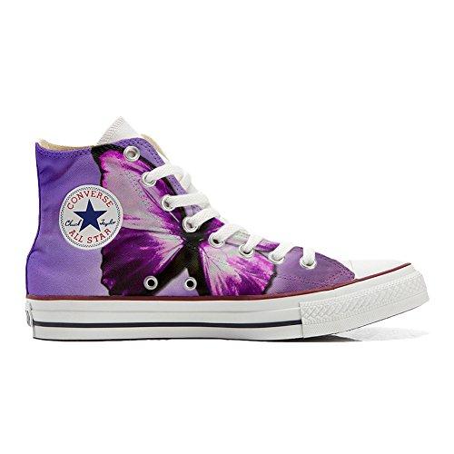 Zapatillas Deportivas Originales de Estados Unidos Personalizadas (Zapatos artesanales) Mariposa Butterfly Multicolor Size: 33 EU