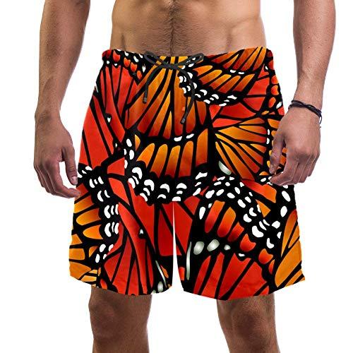 Bañador para hombre Butterfly de secado rápido Multicolor multicolor Medium