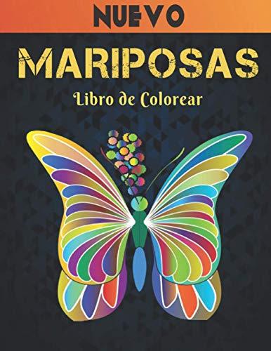 Mariposas Libro de Colorear Nuevo: Aliviar el Estrés Libro de Colorear 50 Mariposas de una cara para Aliviar el Estrés y Relajación Diseños de ... ِMariposas para colorear para adultos