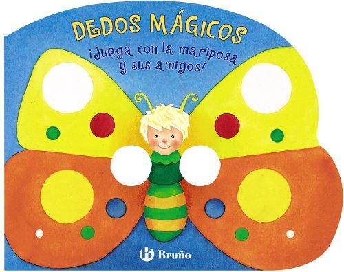 DEDOS MÁGICOS - ¡Juega con la mariposa y sus amigos! (Castellano - A Partir De 0 Años - Manipulativos (Libros Para Tocar Y Jugar), Pop-Ups - Dedos Mágicos)