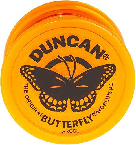 Duncan - Juguete clásico de Mariposa Yo-Yo, Color Naranja