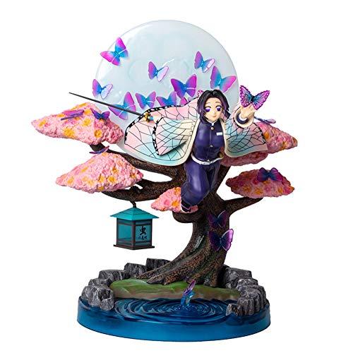 XLST Espada Fantasma Figura De Acción TPA Mariposa Shinobu, Modelo Estatua PVC Materiales De Protección Ambiental Adornos Clásico Juguetes Hechos A Mano - 12,2 Pulgadas