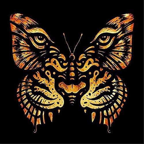 6000 piezas de rompecabezas de madera para adultos, niños, patrón de tigre, mariposa, grandes pinturas intelectuales educativas, juego de rompecabezas, juguetes, regalo para la decoración de la pared