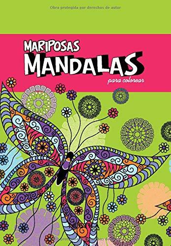 MANDALAS MARIPOSAS: PARA COLOREAR
