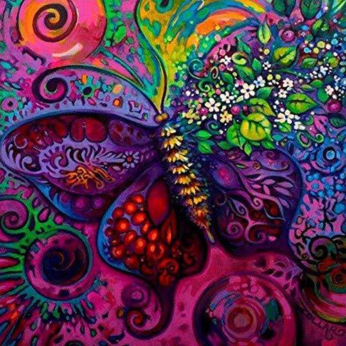 UYRT Rompecabezas de 5000 Piezas para Adultos para niños,Hermosa Mariposa, Cada Pieza es única y encajan Perfectamente