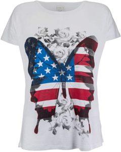 camiseta mariposa usa