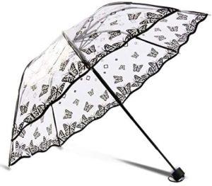 paraguas con mariposas moda