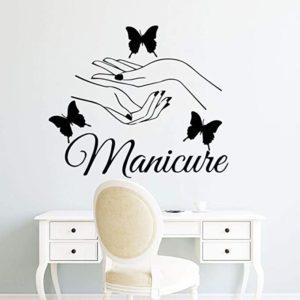decorar uñas con mariposas
